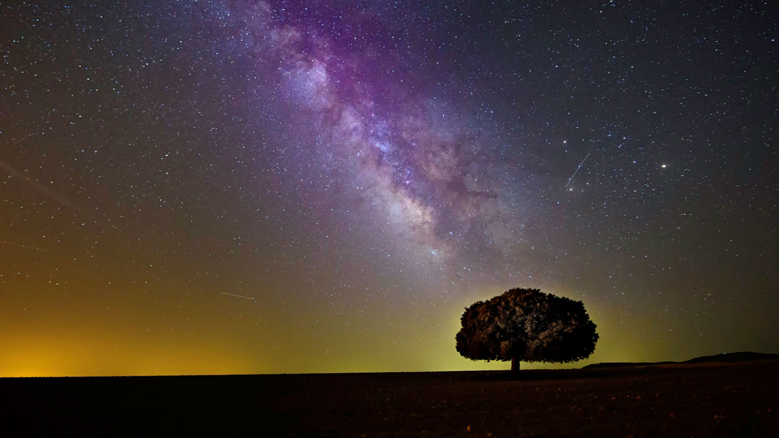 Milky way stars represent the Spiritual Awakening Signs and Symptoms